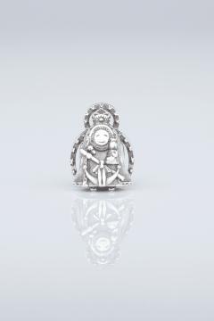 Virgencita de La Cabeza con Resplandor