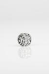 Charm botón charro filigrana plata